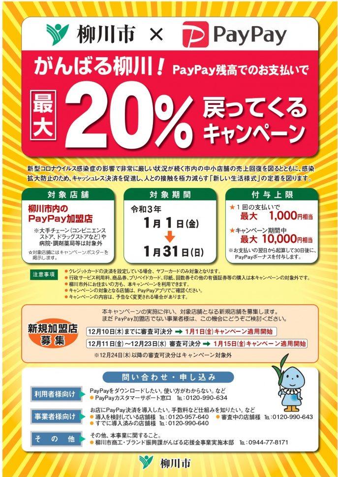 柳川市×PayPayキャンペーンについて
